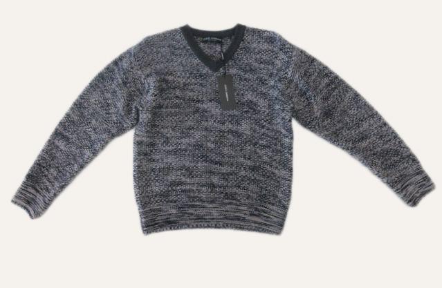 メンズ ドルチェ&ガッバーナ Vネック ウールセーター 44