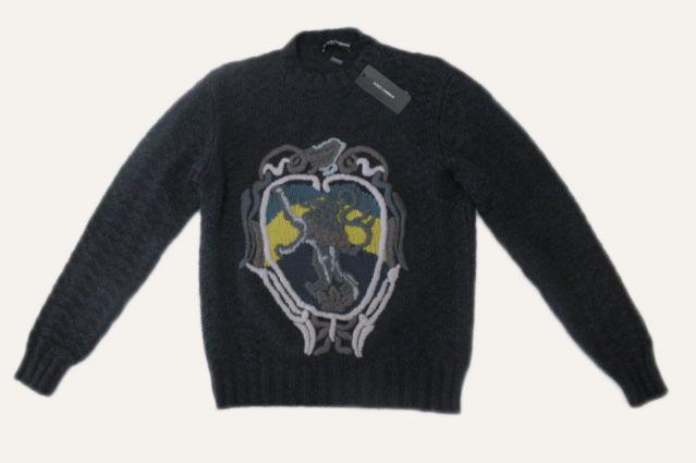 特別価格 ドルチェ ガッバーナ アパレル 50 メンズ 驚きの値段 大放出セール バージンウールセーター