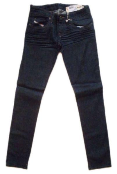 特別価格 DIESEL レディース デニム ディーゼル ストレッチジーンズ SLIM-SKINNY 26×32 未使用 宅配便送料無料 WAIST LOW SUPER Grupee