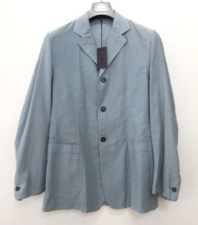 メンズ プラダ ジャケット ブルー 48