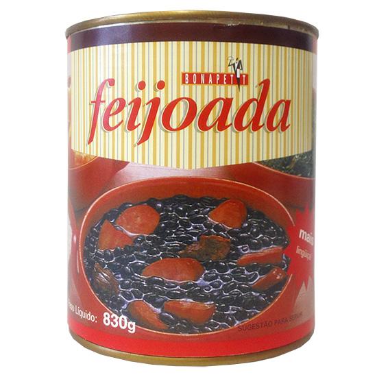 ブラジルを代表する豆料理 大容量 フェイジョアーダ BONAPETIT FEIJOADA 830g 一部予約 開店祝い