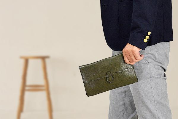 クラッチバッグ メンズ 本革 小さめ レディース 牛革 22cm レザー おしゃれ 日本製 気軽に携帯できるハンディサイズの小型クラッチバッグ 結婚式 冠婚葬祭にもおすすめ 25850 trPOiTkuXZ