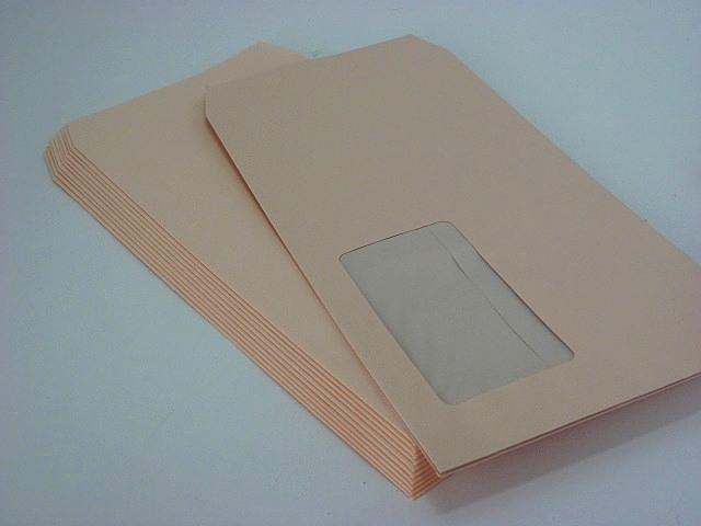 長3窓付(中身が見えない) プラテクトピンク80g/枠なし 1,000枚