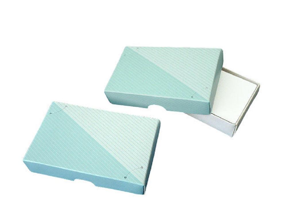 名刺箱 紙箱4号 薄口用 上蓋形式200箱
