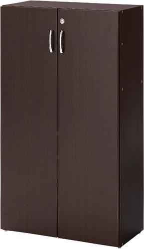 【送料・組立・設置が無料】-(SVK-001DB-T)シンプル木製収納D295 3段両開き DB バリュテック・インターナショナル株式会社kaf005856 -【お買い得商品】