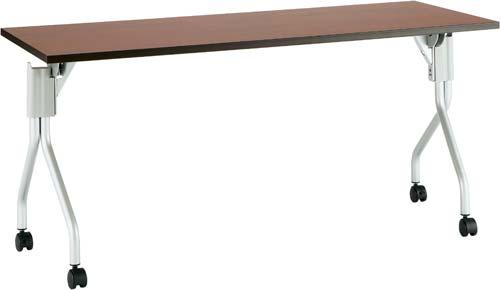 【送料・組立・設置が無料】-(Z-HI1560N-DB-C)UPフラップテーブル2幅1500奥600D4台以上 株式会社ノアkaf006073 -【お買い得商品】