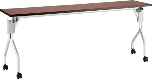 【送料・組立・設置が無料】-(Z-HI1845N-DB-C)UPフラップテーブル2幅1800奥450D4台以上 株式会社ノアkaf006072 -【お買い得商品】