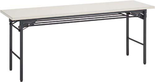 【送料・組立・設置が無料】-(KT-S30F1NN)脚折りたたみテーブル棚付D450Nグレー4台以上 コクヨ株式会社kaf006065 -【お買い得商品】