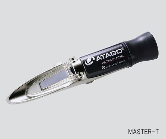 ★ポイント最大14倍★【全国配送可】-手持屈折計 MASTER-4T 型番MASTER-4T  JAN4560161230655 aso61-0174-70 -【研究用機器】
