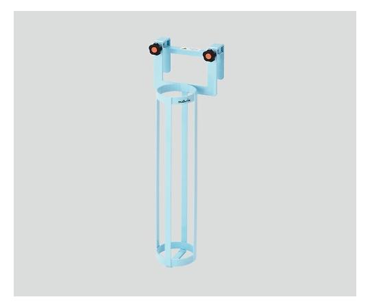 いまだけ!★最大P24倍★ 1/9-1/16【全国配送可】-酸素ボンベラック(ベッド用)ブルー ナビス 型番BB-B  JAN4580110266566 aso 0-2396-03 -【医療・研究機器】
