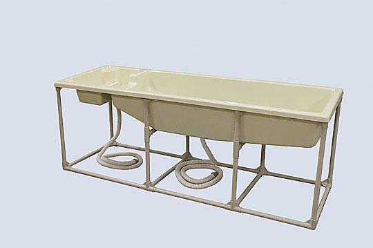 いまだけ!★最大P24倍★ 1/9-1/16【全国配送可】-簡易浴槽用 架台 その他 型番FTR-2009K  JAN4562108520225 aso 0-5817-21 -【医療・研究機器】