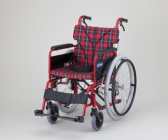 いまだけ!★最大P24倍★ 1/9-1/16【全国配送可】-車椅子 (自走式/カラーアルミ製/背折れタイプ) カワムラサイクル 型番BM22-40SB-M  JAN4514133012015 aso 0-9427-09 -【医療・研究機器】