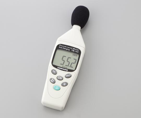 いまだけ!★ポイント最大15倍★【全国配送可】-騒音計 TM-103 Tenmars 型番TM-103  JAN4560111737371 aso 1-3460-02 -【医療・研究機器】