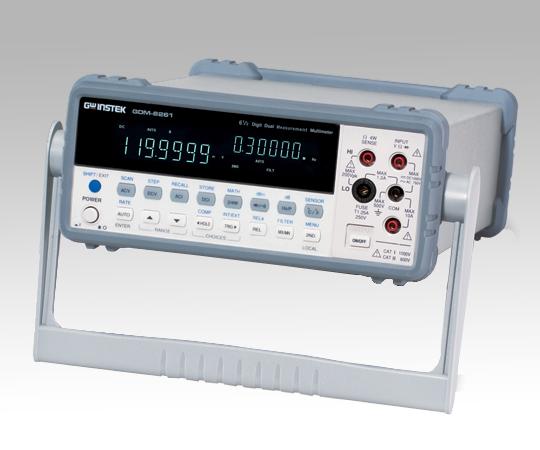 いまだけ!★ポイント最大15倍★【全国配送可】-デジタルマルチメーター GDM-8261A 校正証明付 GW INSTEK(テクシオ・テクノロジー) 型番GDM-8261A aso 1-3886-12 -【医療・研究機器】