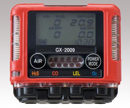 いまだけ!★ポイント最大15倍★【全国配送可】-ガスモニター GX-2009 TYPED 2成分測定可 理研計器 型番GX-2009TYPE D aso 1-6269-24 -【医療・研究機器】