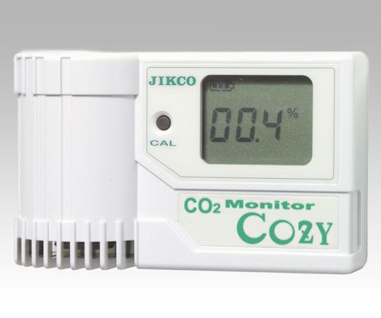 いまだけ!★最大P24倍★ 1/9-1/16【全国配送可】-二酸化炭素モニター ジコー 型番COZY-1  JAN4580453620414 aso 1-6916-01 -【医療・研究機器】