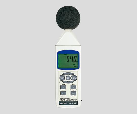 いまだけ!★最大P24倍★ 1/9-1/16【全国配送可】-データロガー騒音計SL-1373SD カスタム 型番SL-1373SD  JAN4983621180039 aso 2-051-01 -【医療・研究機器】