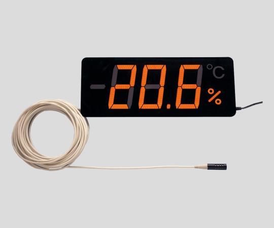 いまだけ!★ポイント最大15倍★【全国配送可】-薄型温湿度表示器 TP-300HB-10 その他 型番TP-300HB-10 aso 2-472-04 -【医療・研究機器】