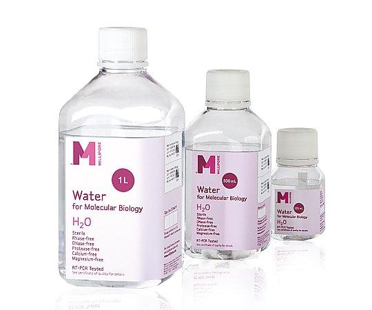 いまだけ!★最大P24倍★ 1/9-1/16【全国配送可】-Water for Molecular Biology 500mL 6本 メルクミリポア 型番H20MB0506 aso 2-5209-04 -【医療・研究機器】