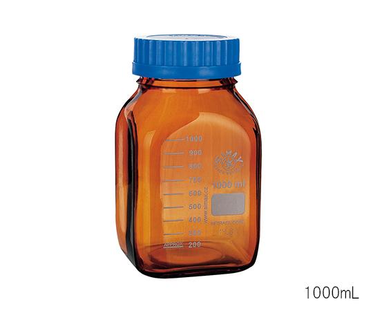 いまだけ!★ポイント最大15倍★【全国配送可】-広口メディウム瓶 遮光 5000mL SIMAX 型番 2080M/H5000  JAN 8593419112713 aso 3-6005-04 -【医療・研究機器】