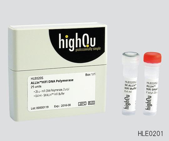 いまだけ!★ポイント最大15倍★【全国配送可】-PCR用試薬(長鎖合成PCR/高正確性PCR)ALLin(TM)HiFi DNA Polymerase (HLE0205) 非表示 型番 HLE0205 aso 3-6222-02 -【医療・研究機器】