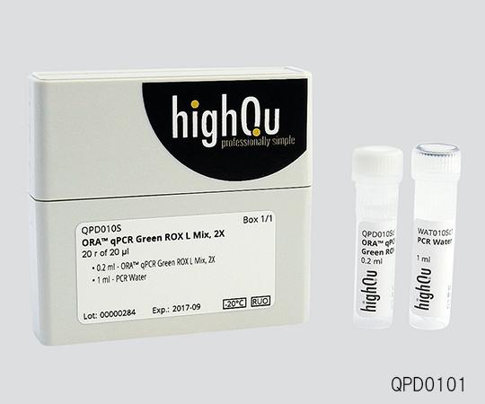 いまだけ!★最大P24倍★ 1/9-1/16【全国配送可】-リアルタイムPCR用試薬(ダイ方式)ORA(TM)qPCR Green Rox H Mix 1000(20μL反応系) 非表示 型番QPD0205 aso 3-6253-04 -【医療・研究機器】