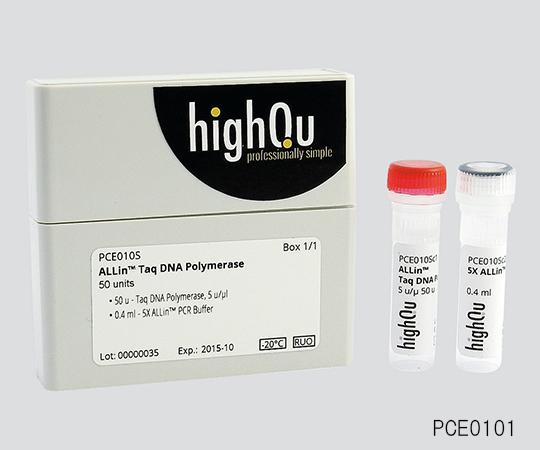 いまだけ!★最大P24倍★ 1/9-1/16【全国配送可】-PCR用試薬 ALLin(TM)Taq DNA Polymerase 2000(50μL反応系) 非表示 型番PCE0105 aso 3-6264-02 -【医療・研究機器】
