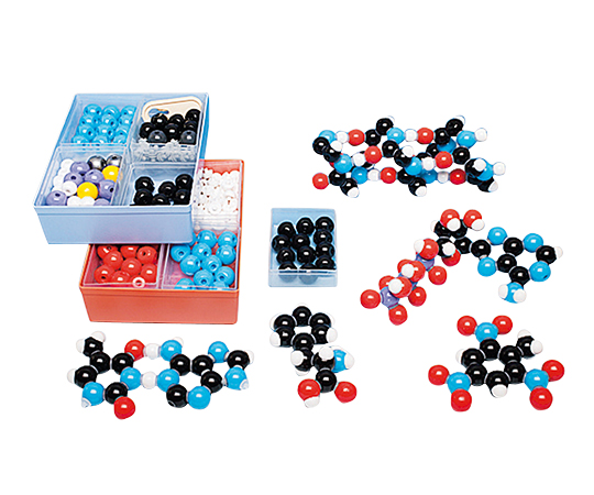 いまだけ!★最大P24倍★ 1/9-1/16【全国配送可】-分子モデルシステム Molymod 生化学セット L (原子×257個、リンク×160本) その他 型番生化学セット L  JAN4582110960420 aso 3-7128-03 -【医療・研究機器】