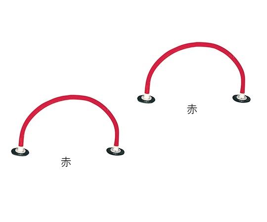 いまだけ!★ポイント最大15倍★【全国配送可】-ソフトハードル同色2本セット 赤 2本入 トッケン 型番120091 赤 aso 7-1651-02 -【医療・研究機器】