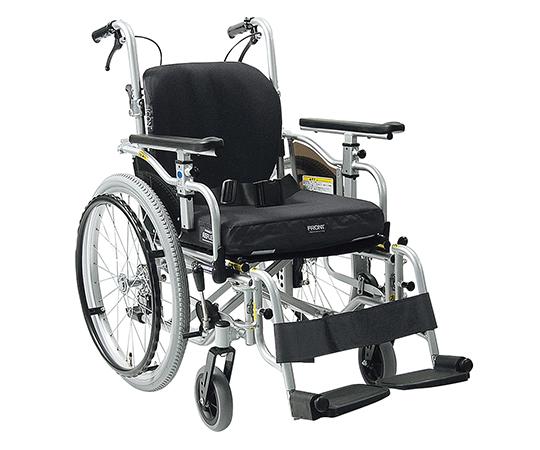 いまだけ!★最大P24倍★ 1/9-1/16【全国配送可】-自走式車椅子(アイコンバック仕様) カワムラサイクル 型番  JAN4514133041633 aso 7-2301-01 -【医療・研究機器】