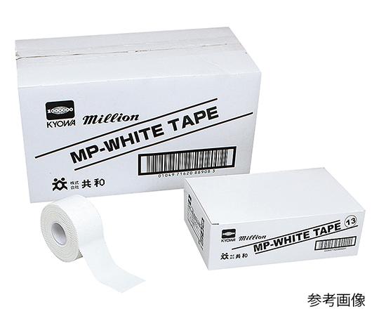 いまだけ!★ポイント最大15倍★【全国配送可】-MPホワイトテープ(テーピング・ホワイトテープ) 38mm×13.7m 共和 型番LN-MP3812  JAN4971620889084 aso 7-3295-04 -【医療・研究機器】