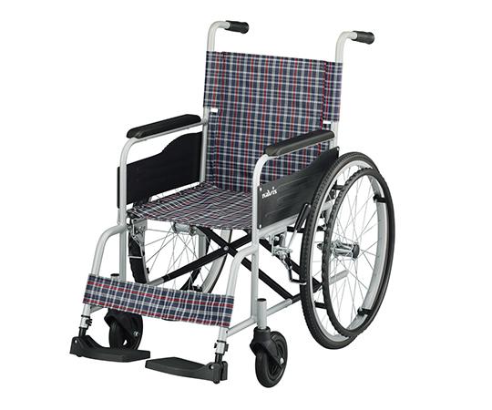 いまだけ!★ポイント最大16倍★【全国配送可】-車椅子(アルミタイプ)介助ブレーキなし ナビス(アズワン) 型番Fit-AL  JAN4582110998638 aso 7-4328-01 -【医療・研究機器】