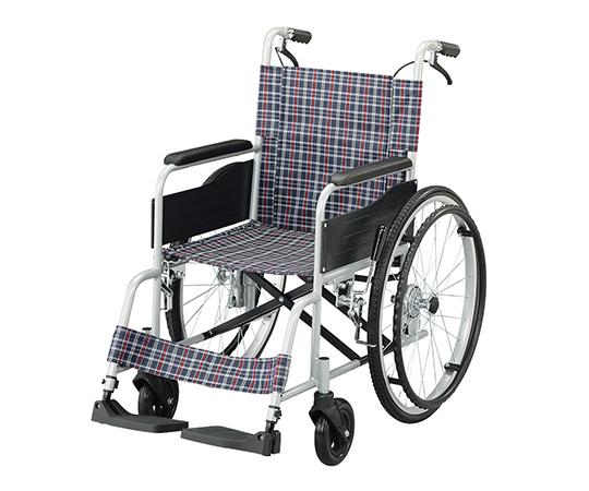 いまだけ!★ポイント最大15倍★【全国配送可】-車椅子(アルミタイプ)介助ブレーキあり ナビス(アズワン) 型番Fit-ALB  JAN4582110998645 aso 7-4328-02 -【医療・研究機器】