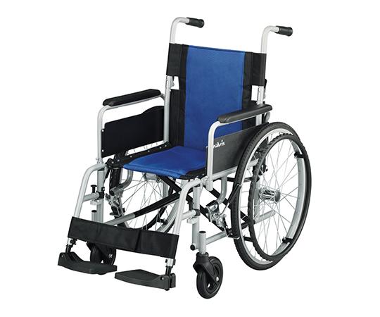 いまだけ!★ポイント最大15倍★【全国配送可】-車椅子 (多機能アルミタイプ) 介助ブレーキなし ナビス(アズワン) 型番Fit-AL-M  JAN4582110998607 aso 7-4330-01 -【医療・研究機器】