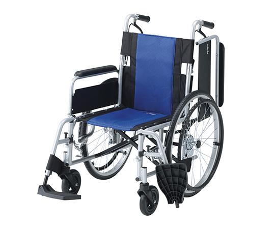 いまだけ!★ポイント最大15倍★【全国配送可】-車椅子 (多機能アルミタイプ) 介助ブレーキあり ナビス(アズワン) 型番Fit-ALB-M  JAN4582110998614 aso 7-4330-02 -【医療・研究機器】