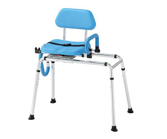 いまだけ!★ポイント最大15倍★【全国配送可】-移動式シャワー椅子 その他 型番HB7065L  JAN4589638169748 aso 7-4437-01 -【医療・研究機器】