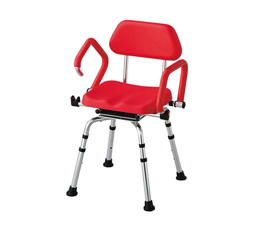 いまだけ!★ポイント最大15倍★【全国配送可】-回転シャワー椅子 その他 型番HS4325AW-R-S  JAN4589638169786 aso 7-4441-01 -【医療・研究機器】