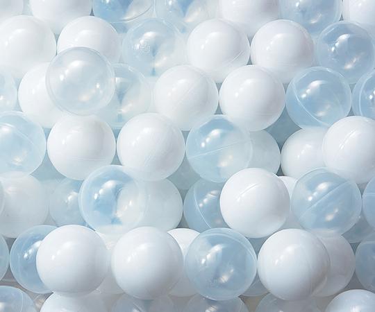 いまだけ!★ポイント最大16倍★【全国配送可】-ボールプール用 PEボール(白・クリア) 500個入 トーエイライト 型番 B-2515  JAN 4518891267717 aso 7-2931-13 -【医療・研究機器】