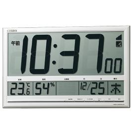 【法人様限定商品】-ed 125316 デジタル電波時計8RZ200-003 メーカー名 シチズンCBM             -【教育・福祉】