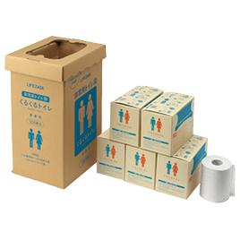 【法人様限定商品】-ed 806125 くるくるトイレ(100枚) メーカー名 三和製作所-【教育・福祉】