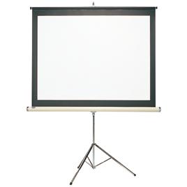 【法人様限定商品】-ed 800046 三脚スタンド式スクリーン EOH80 メーカー名 馬印-【教育・福祉】