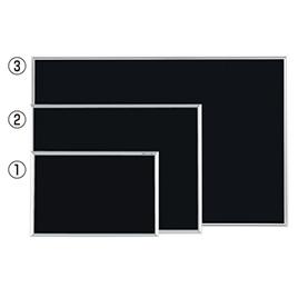 【法人様限定商品】-ed 805482 ブラックボード(4)1210×910 メーカー名 馬印-【教育・福祉】