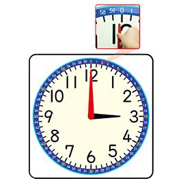★ポイント最大16倍★【教育施設様限定商品】-ed 148962 かるい連動式時計模型ボード メーカー名 オータケ-【教育・福祉】