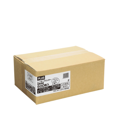 最大P16倍 お気軽にお見積もりご依頼下さい 爆買い送料無料 3 4-11 P最大24倍 送料無料 -レーザー粘着用紙 LT-501S プラス JAN お気に入 ジョインテックス jtx LT-501S 45311- 4977564183998 JOINTEX 品番 メーカー在庫品
