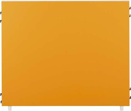 ★ポイント最大16倍★【送料・組立・設置が無料】-(Z-KP-1210N-OR-C)FKパーティション2 オレンジ高1035幅1200 株式会社ノアkaf000299 -【お買い得商品】