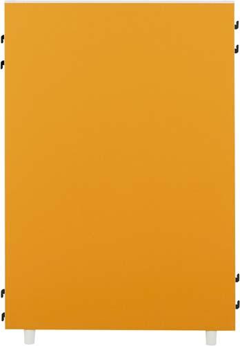 ★ポイント最大16倍★【送料・組立・設置が無料】-(Z-KP-0710N-OR-C)FKパーティション2 オレンジ高1035幅700 株式会社ノアkaf000251 -【お買い得商品】