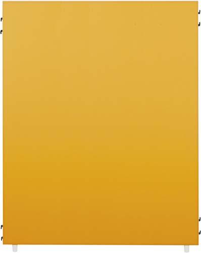 【送料・組立・設置が無料】-(Z-KP-1215N-OR-C)FKパーティション2 オレンジ高1535幅1200 株式会社ノアkaf000303 -【お買い得商品】