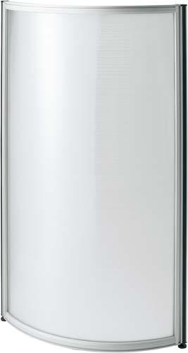 【送料・組立・設置が無料】-(Z-PC41-C)シェルト ポリカパネルラウンドタイプ 高さ1600 カウネットkaf001324 -【お買い得商品】