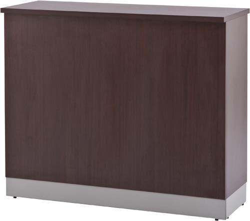 【送料・組立・設置が無料】-(Z-SHHC-1200DB)ベーシック木製ハイカウンター幅1200Dブラウン アール・エフ・ヤマカワSH株式会社kaf001244 -【お買い得商品】