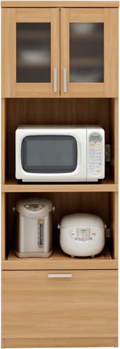 【送料・組立・設置が無料】-(M5916)キッチン収納 キッチンボード 60K ナチュラル 株式会社共和産業kaf003004 -【お買い得商品】